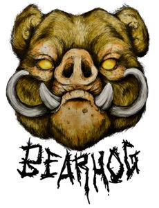 BearHog Logo color font5