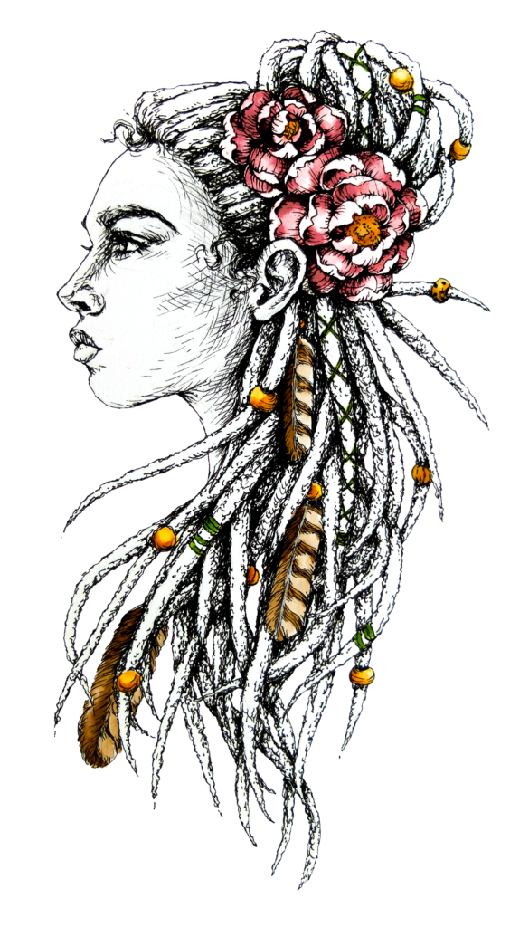 Rebel Dreads Portret