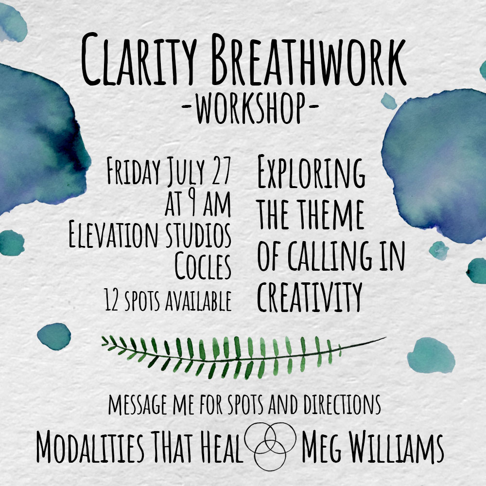 Clarity Breathwork flyer 2