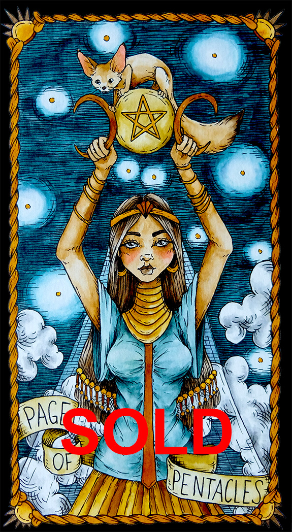 Pentacles 11 Sold