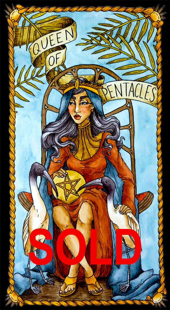 Pentacles 13 Sold