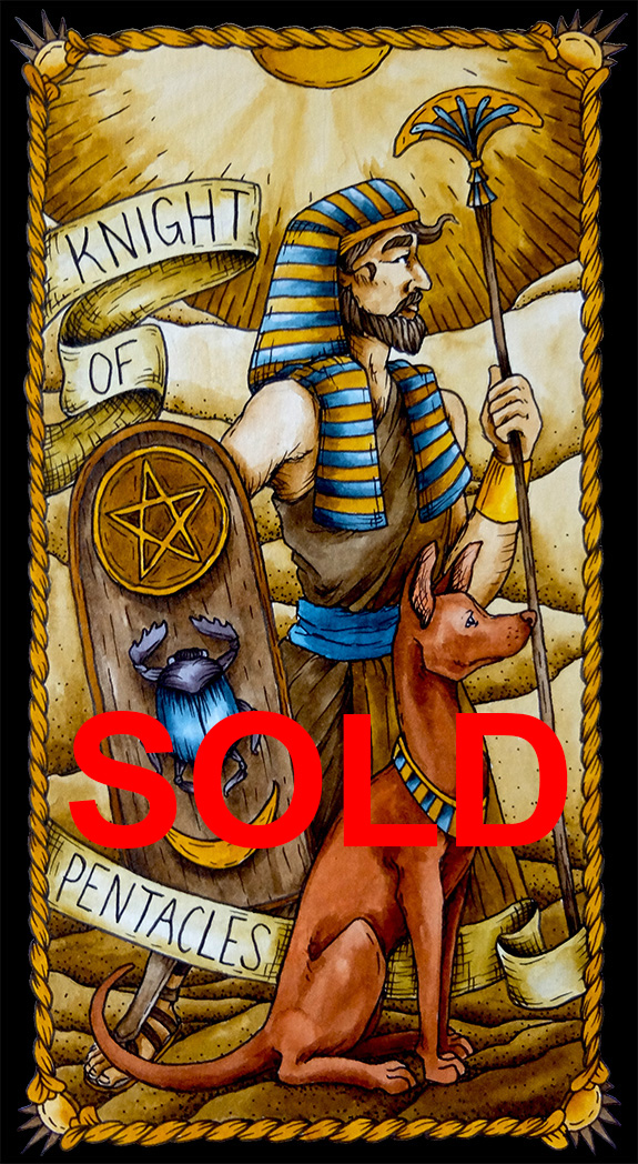 Pentacles 12 Sold